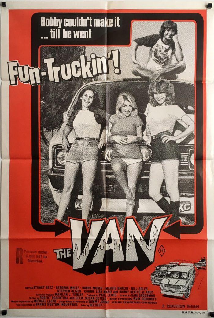 The Van 1979 Australian One Sheet Movie Poster