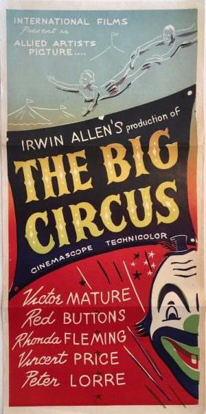 the big circus daybill poster