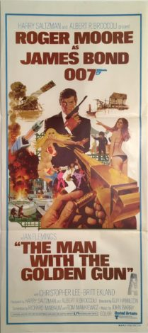 the man with the golden gun daybill 1974 roger moore james bond 1