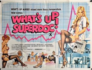 what's up superdoc UK Quad poster with artwork by Tom Chantrell 1