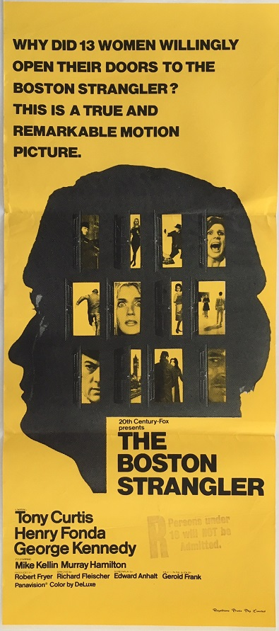 The Boston Strangler 1968 Australian Daybill poster
