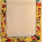 Walt Disney Stock australian daybill poster 1940's