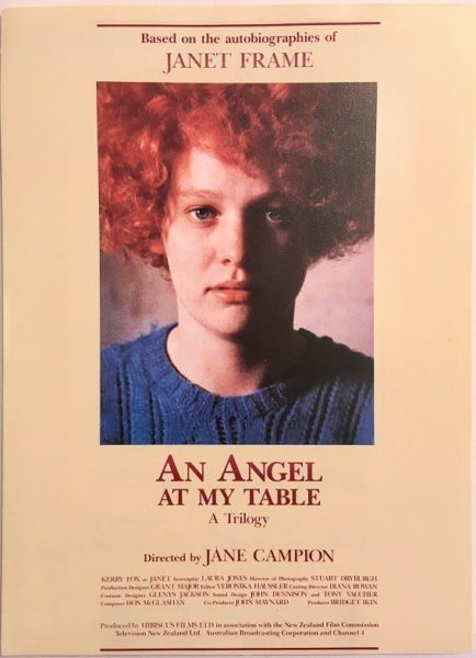 an angel at my table new zealand movie flyer (1) 1990
