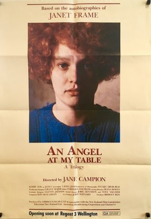 an angel at my table new zealand movie poster 1990