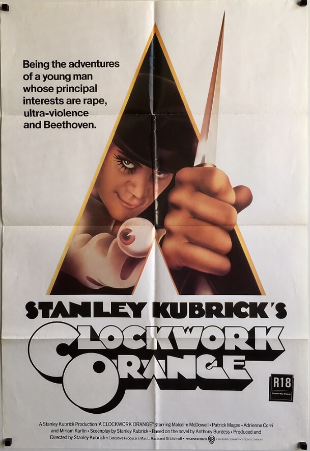 clockwork orange australian one sheet poster (1)