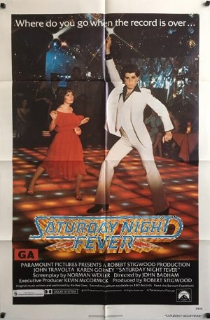 saturday night fever us one sheet movie poster john travolta (3)