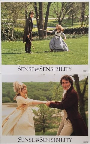 sense & sensibility lobby cards 1995 kate winslet, emma thompson