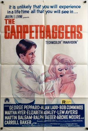 the carpetbaggers australian one sheet poster