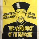 the vengeance of fu manchu new zealand one sheet movie poster 1967 Christopher Lee