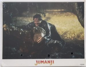 Jumanji lobby card set robin williams