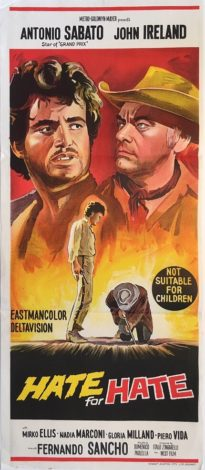 hate for hate australian daybill movie poster western
