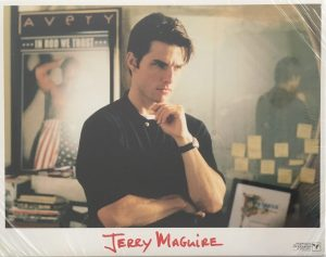 jerry maguire lobby card set tom cruise
