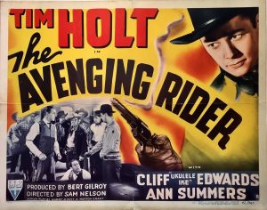 the avenging rider 1949 half sheet tim holt (2)