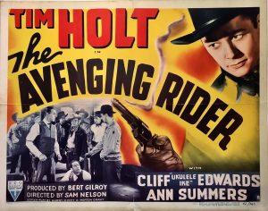 the avenging rider 1949 half sheet tim holt (2)