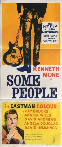 some people australian daybill poster kenneth more 1962