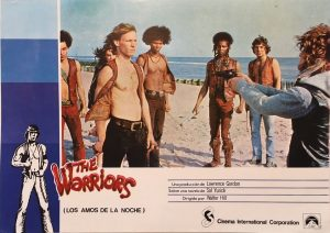 the warriors 1979 spanish lobby card