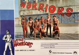 the warriors 1979 spanish lobby card (2)