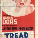 tread softly stranger diana doors daybill poster 1958