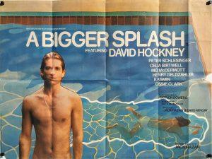 A Bigger Splash 1973 David Hockney UK Quad Poster