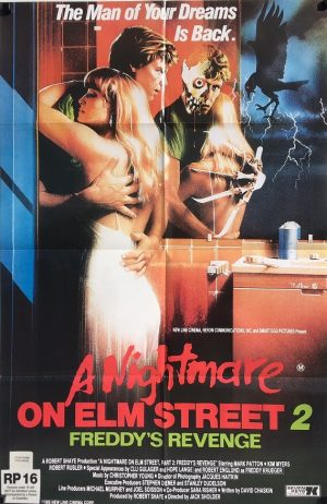 A Nightmare on Elm Street 2 Freddys Revenge Australian One Sheet Poster