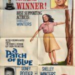 A Patch of Blue 1965 Australian One Sheet Poster Shelley Winters Sidney Poitier Elizabeth Hartman