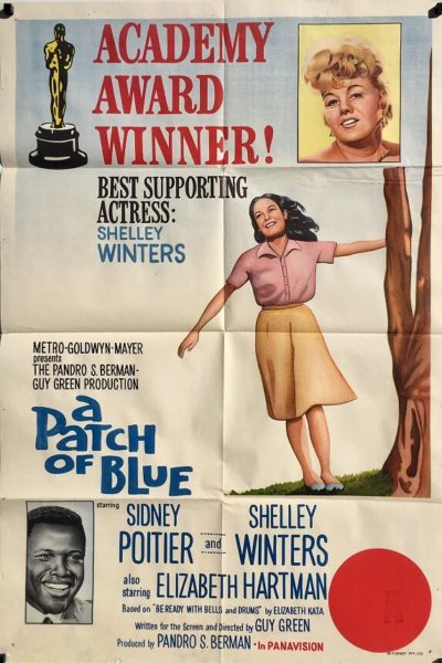 A Patch of Blue 1965 Australian One Sheet Poster Shelley Winters Sidney Poitier Elizabeth Hartman