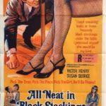 All Neat in Black Stockings 1969 Australian One Sheet Poster