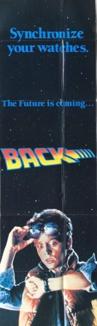 Back to the future 2 1989 teaser door panel movie poster (1)