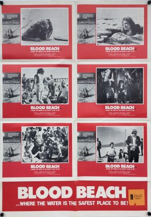 Blood Beach 1980 Australian Lobby Card Movie Poster