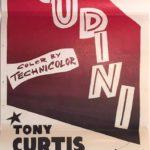 Houdini Australian rerelease daybill poster