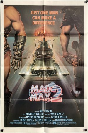 Mad Max 2 The Road Warrior 1981 US International One Sheet Poster Mel Gibson