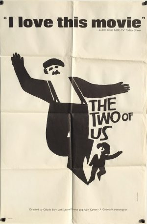 The Two of Us 1967 US One Sheet Movie Poster Saul Bass