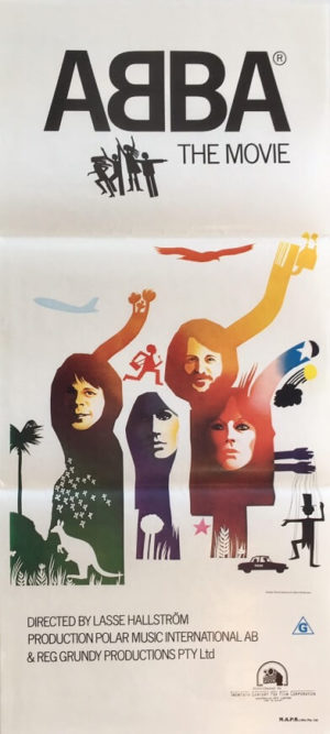 abba the movie australian daybill poster 1977