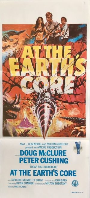 at the earths core australian daybill poster 1976