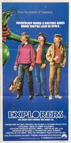 explorers australian daybil poster 1985