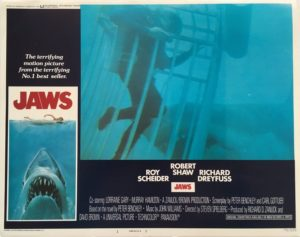 jaws US lobby card 1975 number 1