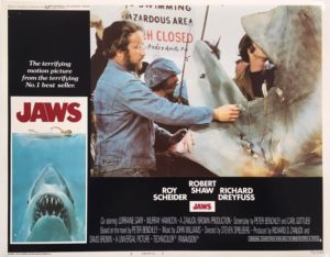 jaws US lobby card 1975 number 2