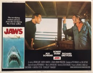 jaws US lobby card 1975 number 7