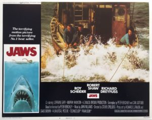 jaws US lobby card 1975 number 8