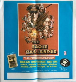 the eagle has landed new zealand poster 1977