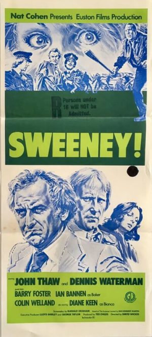 the sweeny australian daybill poster 1970s