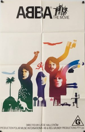 abba the movie australian one sheet poster