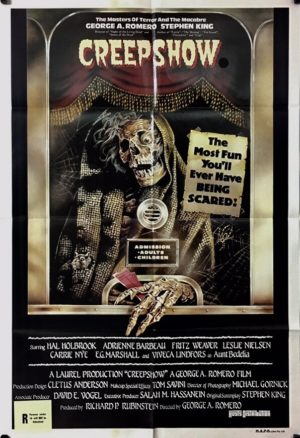 creepshow australian one sheet poster 1982