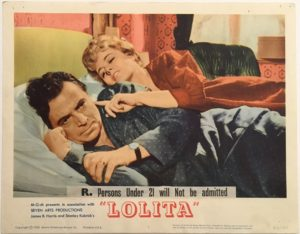 lolita lobby card 1 1962 with james mason