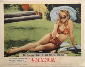 lolita lobby card 2 from 1962