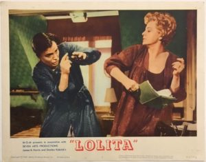 lolita lobby card 3 from 1962