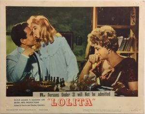 lolita lobby card 4 from 1962