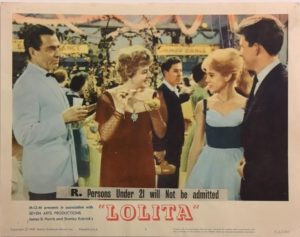 lolita lobby card 5 from 1962