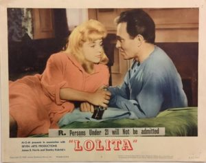 lolita lobby card 6 from 1962