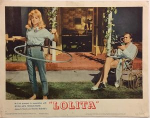 lolita lobby card 7 from 1962